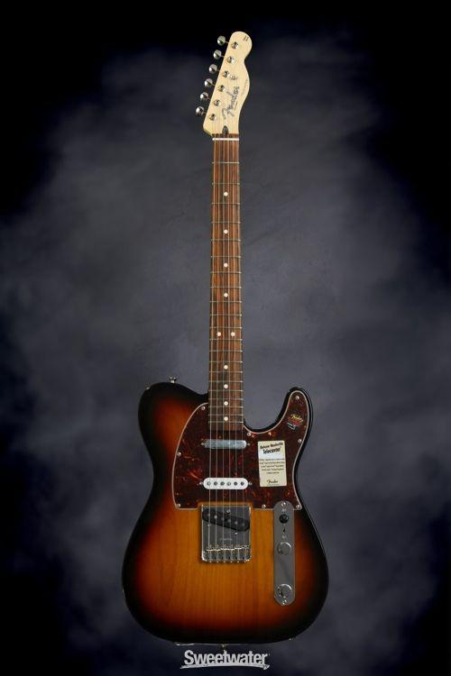 Fender Deluxe Nashville Tele 2 Color Sunburst With Maple Fingerboard Fender Deluxe Fender Sunburst