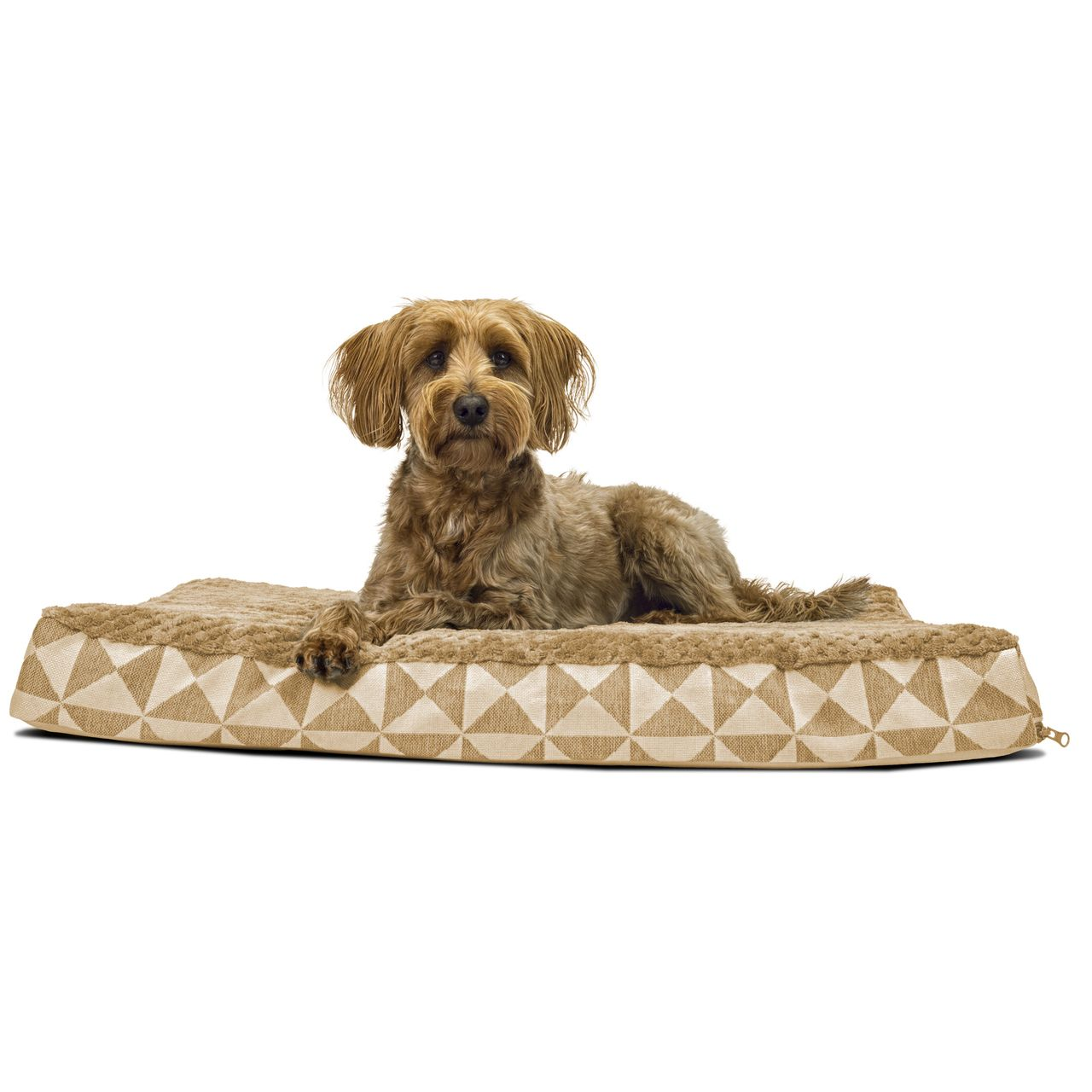 Cool Gel Kilim Look Orthopedic Pet Bed Plush Top 38 95