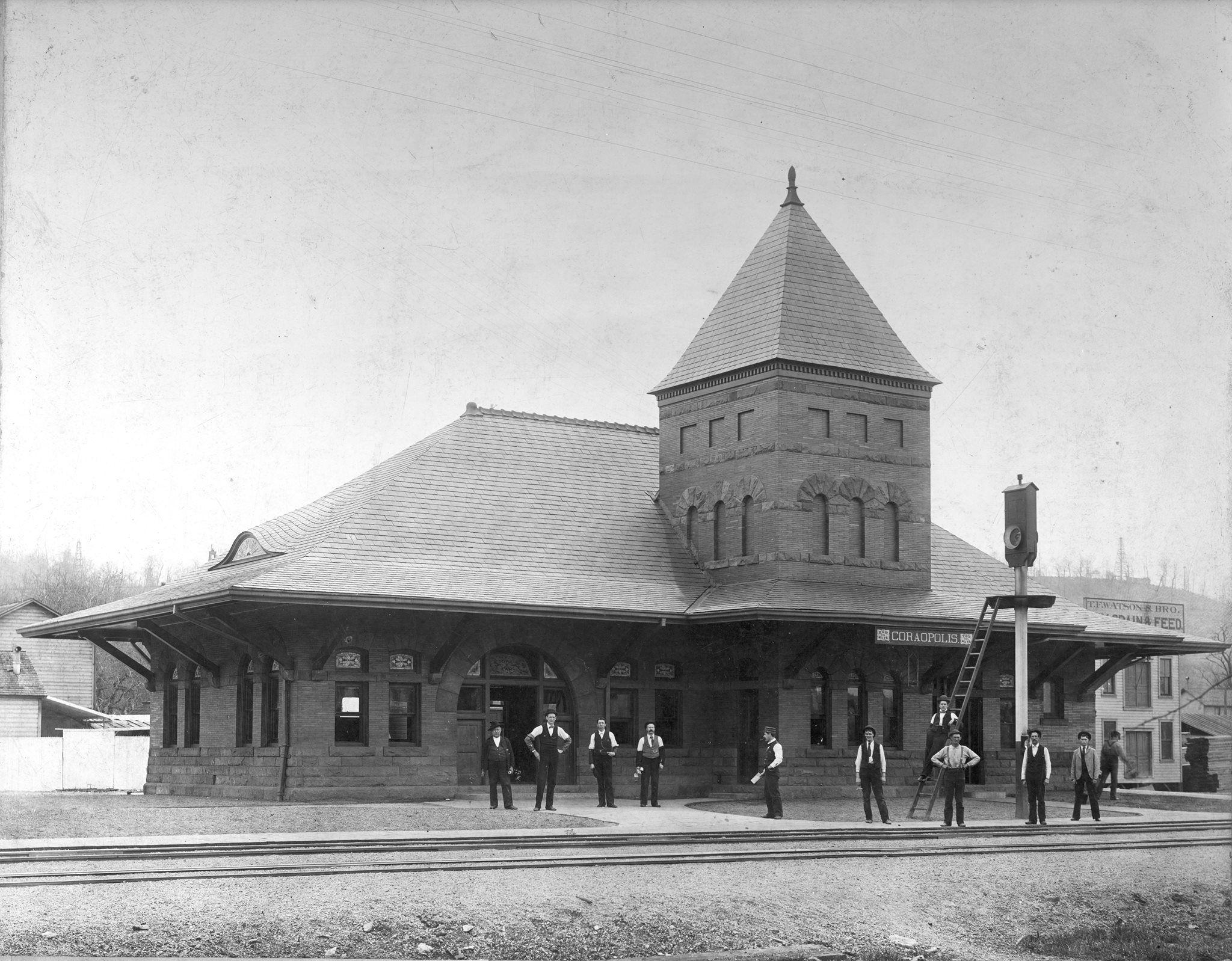 The Coraopolis Station   Pennsylvania history, Coraopolis
