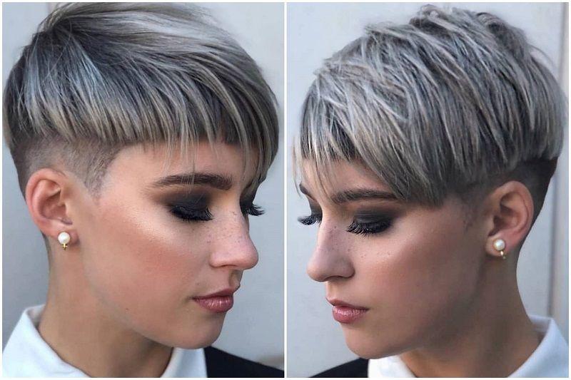 2019 Kurze Frisuren 2 Frisuren Stil Haar Kurze Und Lange Frisuren Haarschnitt Kurz Haarschnitt Extrem Kurze Haare