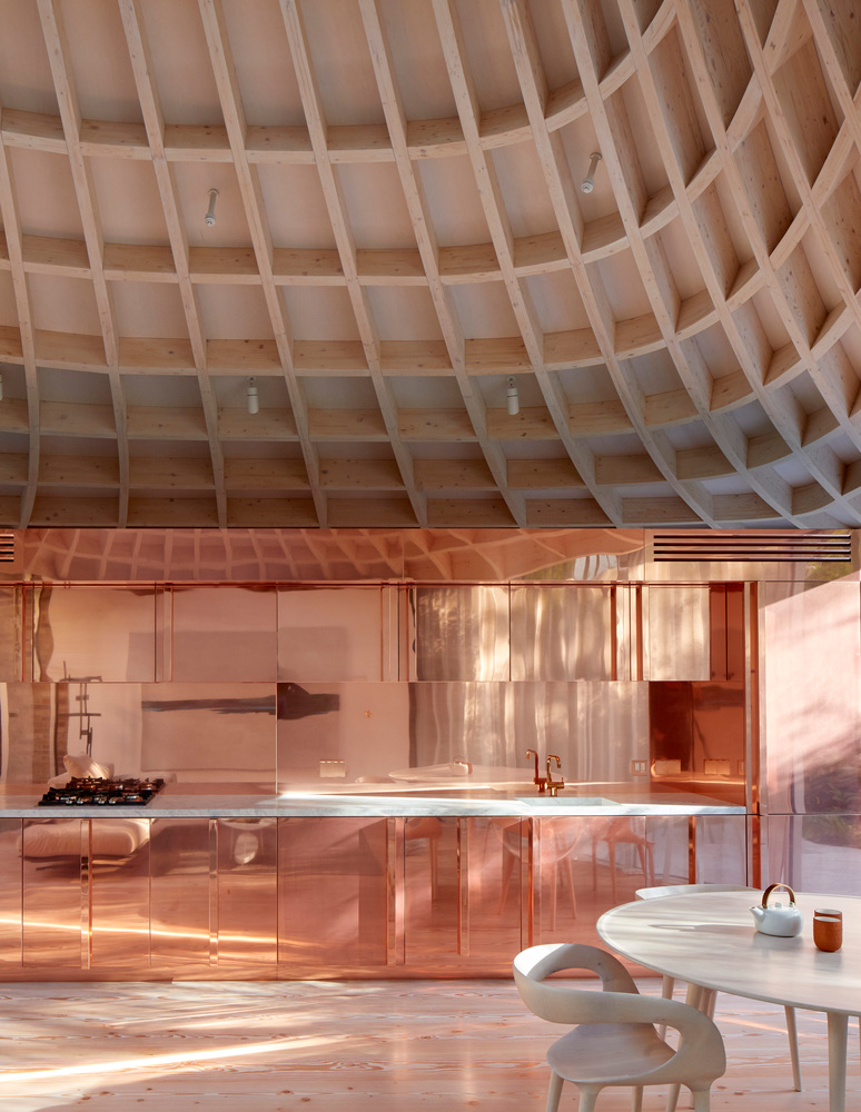 Gallery Of House In A Garden Gianni Botsford Architects 18 In 2020 Copper Roof Interior Architecture Design Interior Architecture