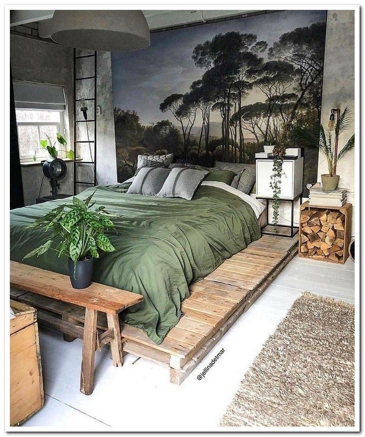 50 Sleigh Bed Inspirations For A Cozy Modern Bedroom: 35+ Amazing Rustic RV Interior Remodeling Design Hacks