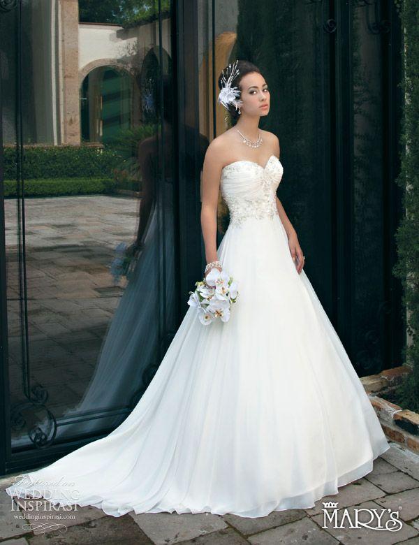 Vestidos de novia 2013 marysbridal