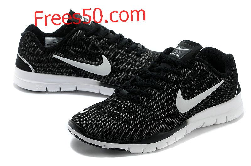 Buy Nike Free TR Fit 3 Breathe Mens Carbon Black Metallic Silver White  579968 010 with best discount.All Nike Free TR Fit 3 Mens shoes save up.