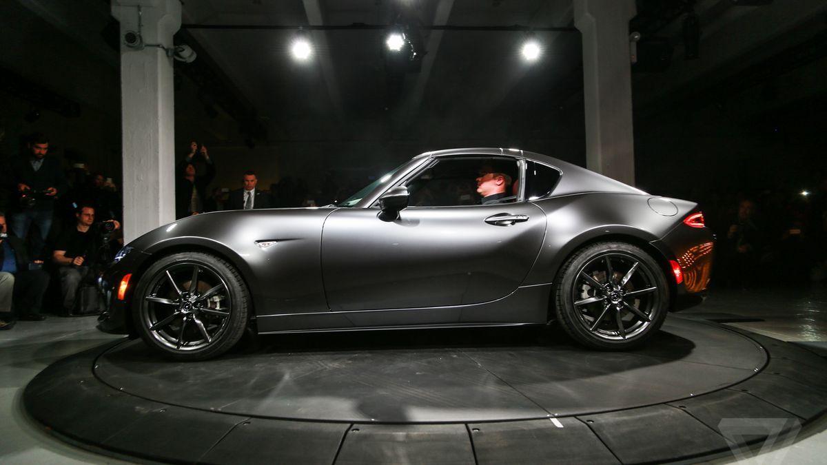 Mazda unveils the MX-5 RF, a Miata with a gorgeous targa ...