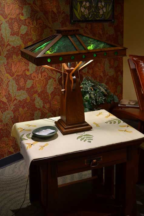 Ragsdale Home Furnishings Stained Glass Table Lamps Craftsman Furniture Craftsman Lamps