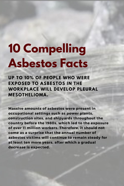 60+ Asbestos health effects
