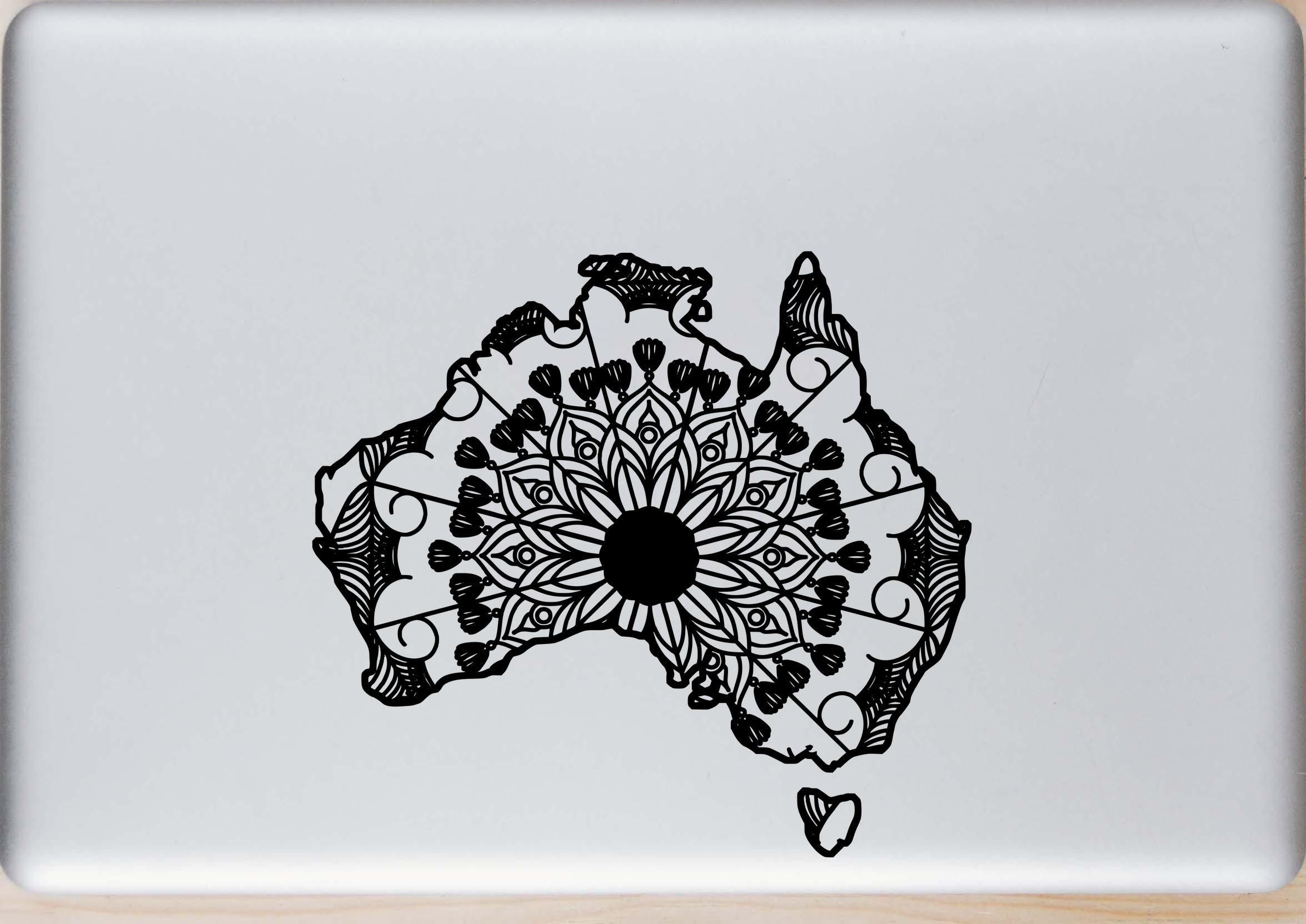 Australia Map Svg.Australia Map Mandala Animal Svg T Shirt Designs Projects To Try
