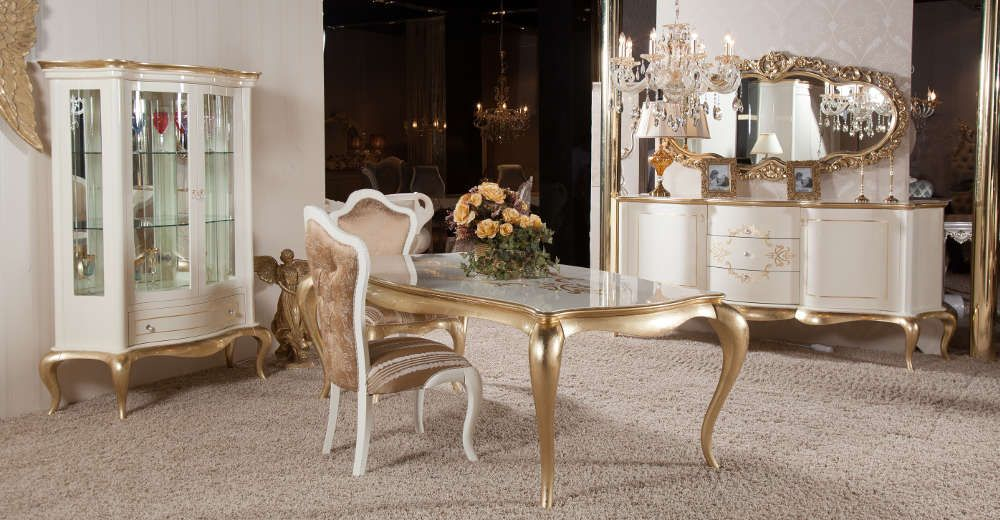Pin By Rasha Sabry On نوم Dinning Tables And Chairs Glass Dining Table Designs Dining Room Table Set