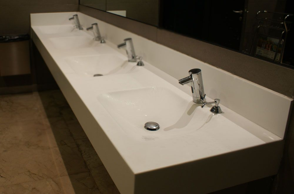 Full Size of Sink:comely Trough Style Bathroom Sink Images Design Farmhouse Sinks  Commercial Basin ...