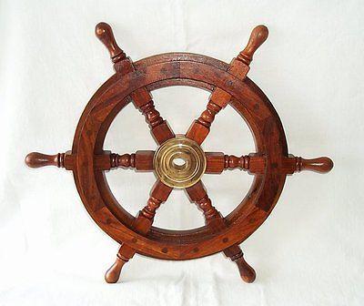 G16 steuerrad schiffssteuerrad handgefertigt aus - Piratenzimmer deko ...