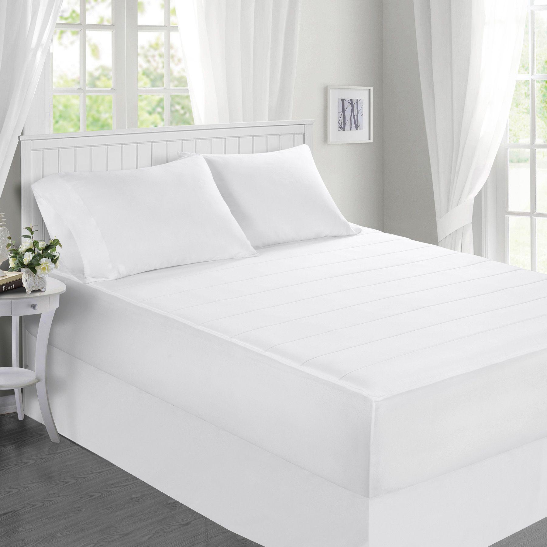 Fingerhut - McLeland Design Memory Foam Mattress Pad | Bedroom ...