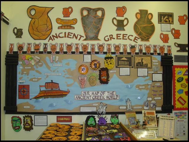 Ancient History Classroom Decorations : National success st place ancient greece display