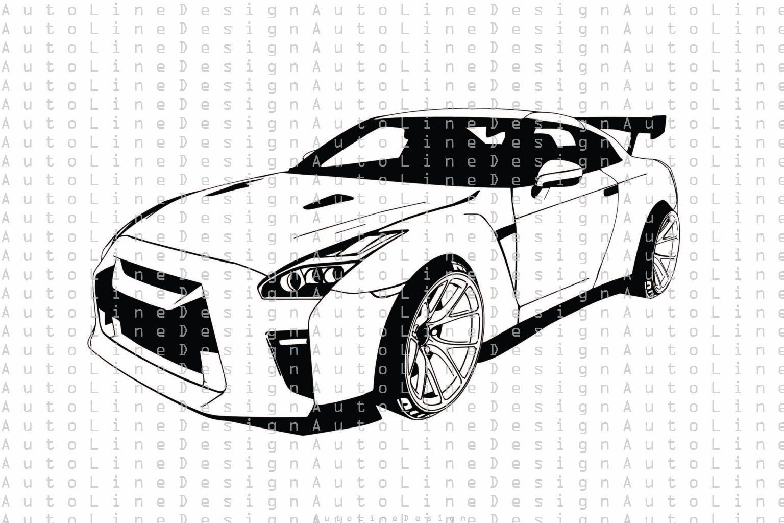 Nissan Gtr R35 Nismo Svg Pdf Dxf Eps Png Illustration Vector Etsy Nissan Gtr R35 Gtr R35 Nissan Gtr [ 1024 x 1536 Pixel ]