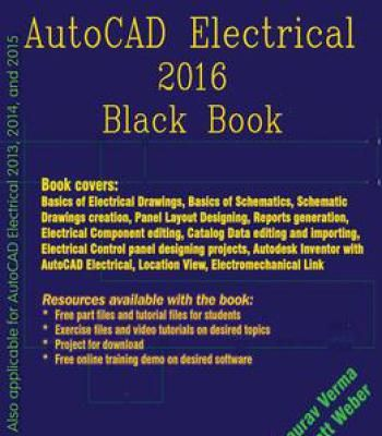 Autocad Electrical 2016 Black Book Pdf With Images Autocad
