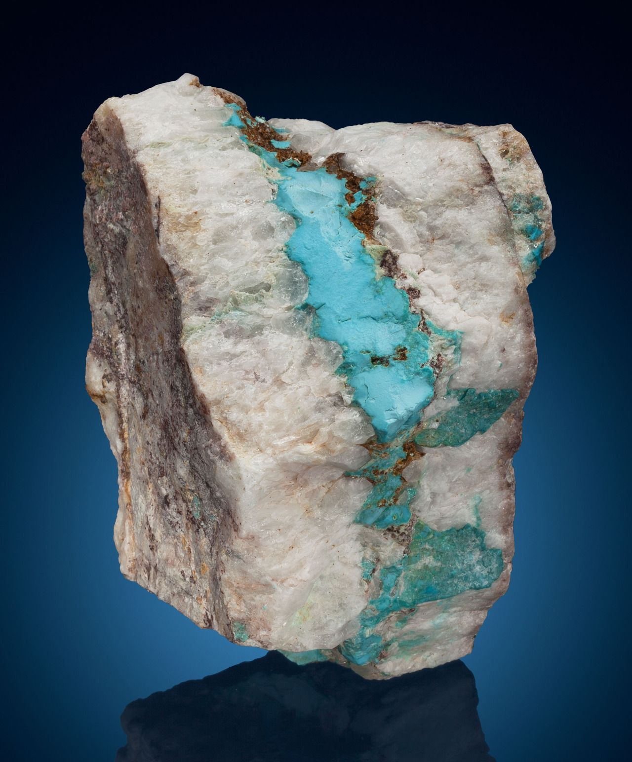 Is quartz considered a natural stone - Turquoise In Quartz Bisbee Warren District Mule Mts Cochise Co