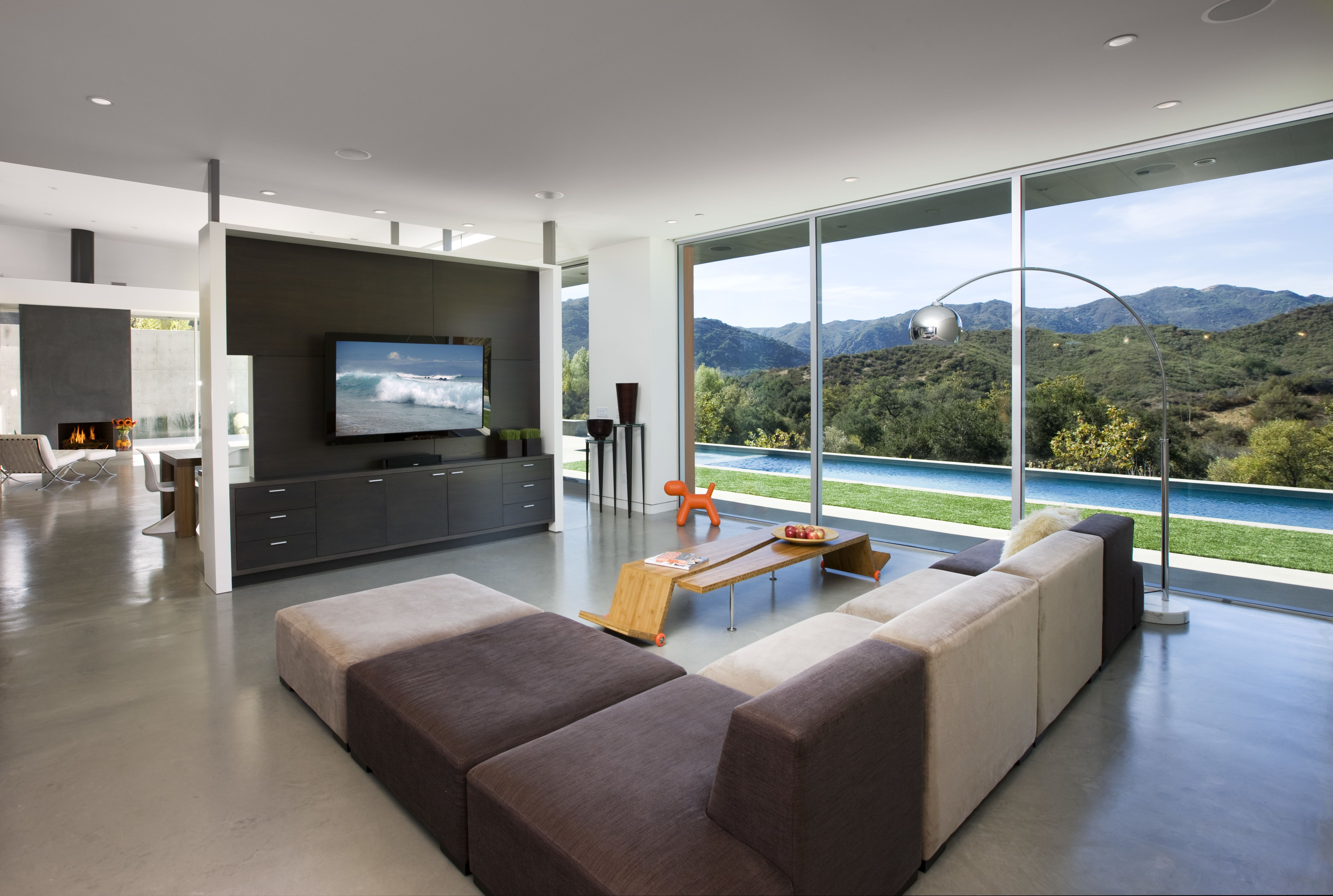 Lima Residenceabramson Teiger Architects  Interior Walls Alluring Interior Design Open Concept Living Room Design Decoration