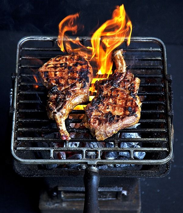 pork chops with yuzo miso marinade  this marinade is great on seafood, tofu and vegetables