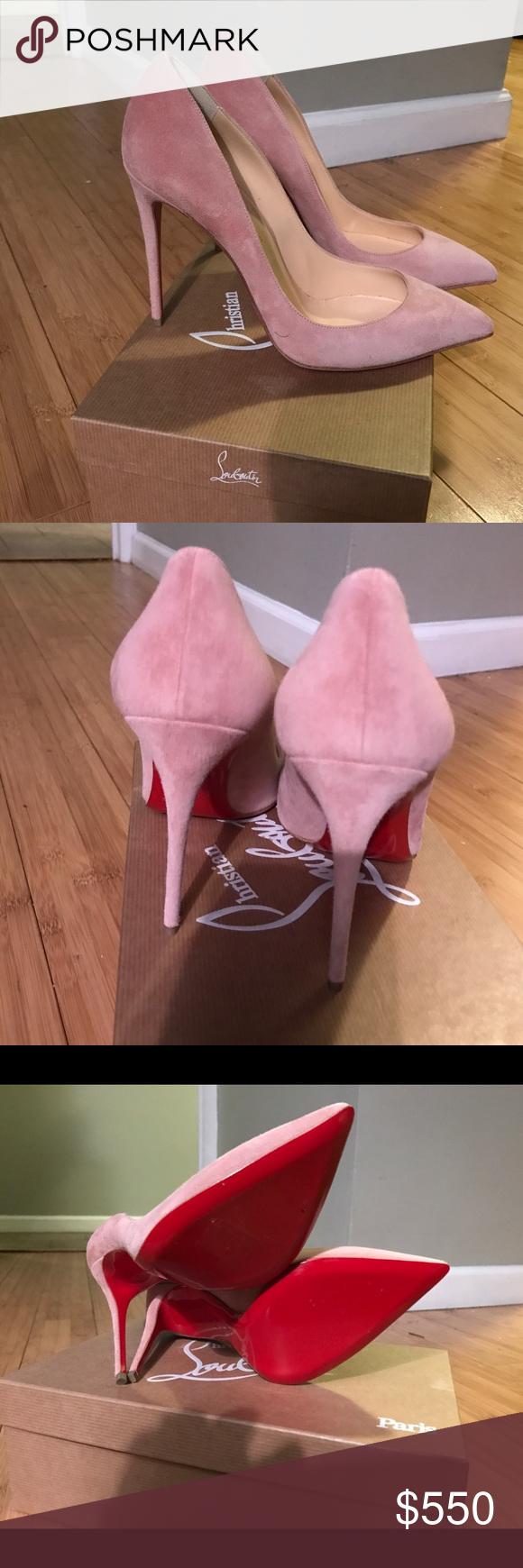 christian louboutin white pigalle louboutin heels 39