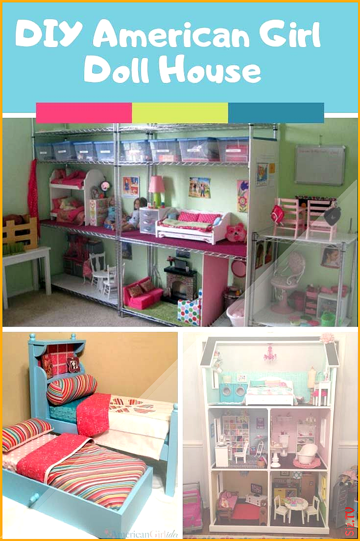 30 DIY American Girl Furniture Projects You Need to See americangirldollcrafts Loving these American Girl Doll House Ideas 30 DIY American Girl Furniture Projects You Nee...