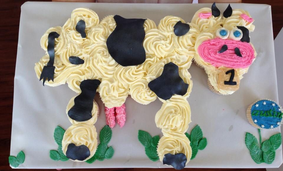 Cupcake cow