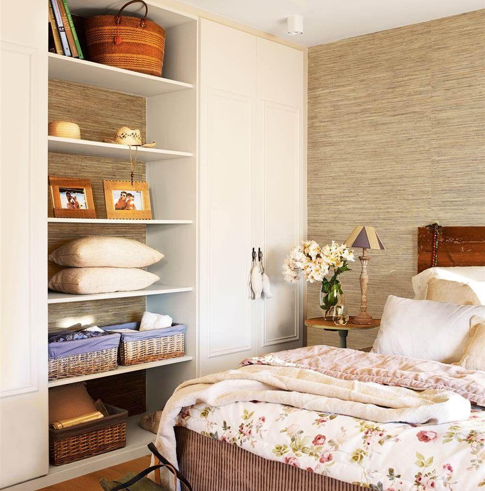 C mo decorar tu dormitorio seg n su talla decorinspiration pinterest dormitorios recamara - Decoracion dormitorios pequenos matrimoniales ...