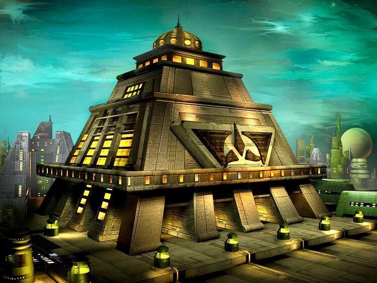 Klingon Architecture Star Trek Klingon Star Trek Ships Star Trek Artwork