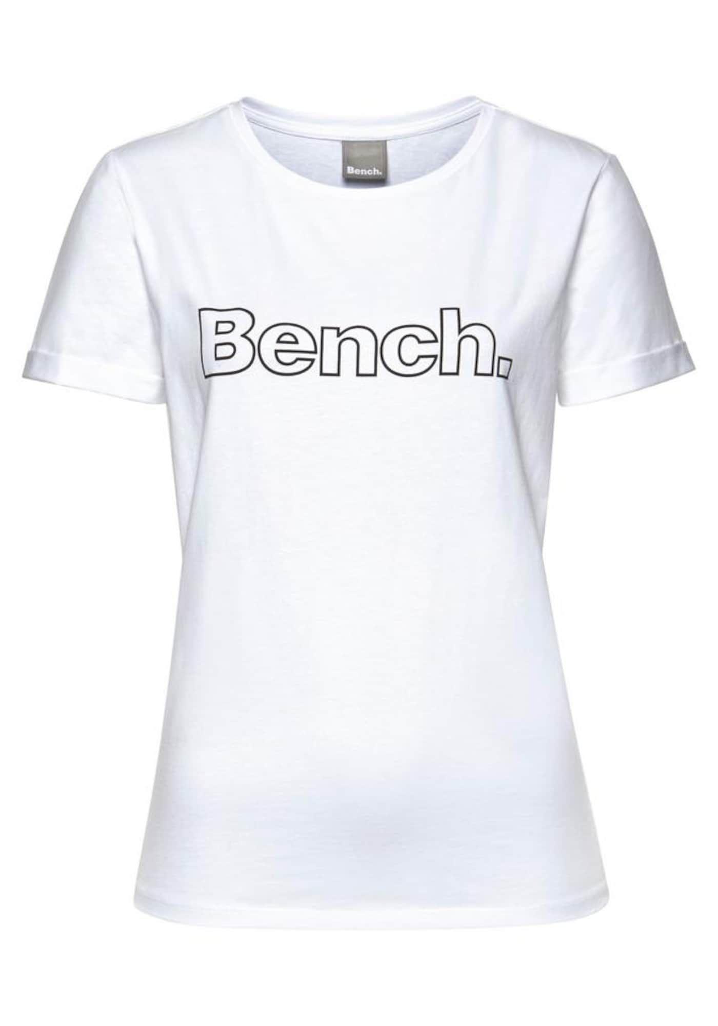 Bench T Shirt Damen Schwarz Weiss Grosse Xs Shirts T Shirt Und T Shirt Damen