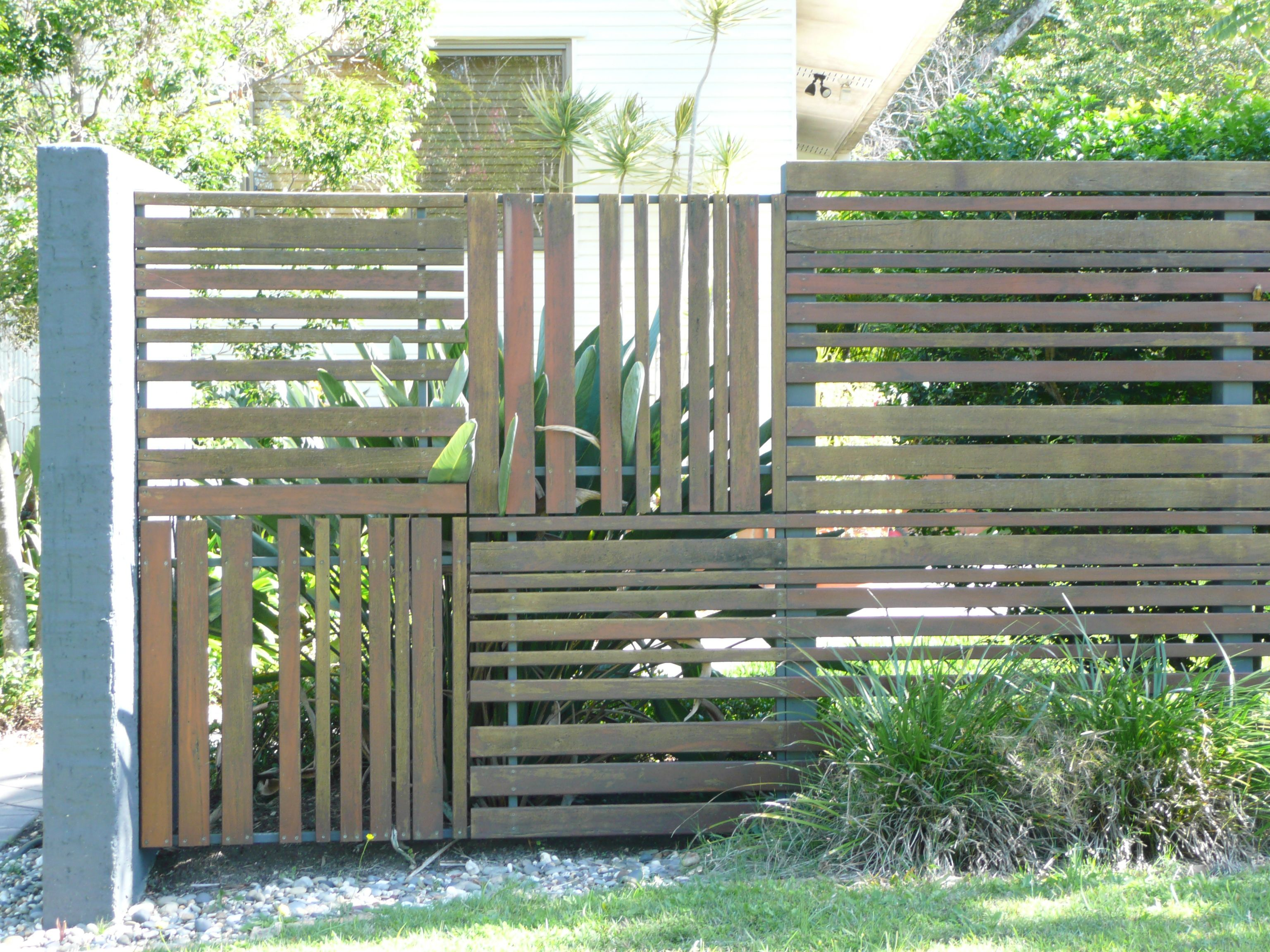 Timber Fence Ideas