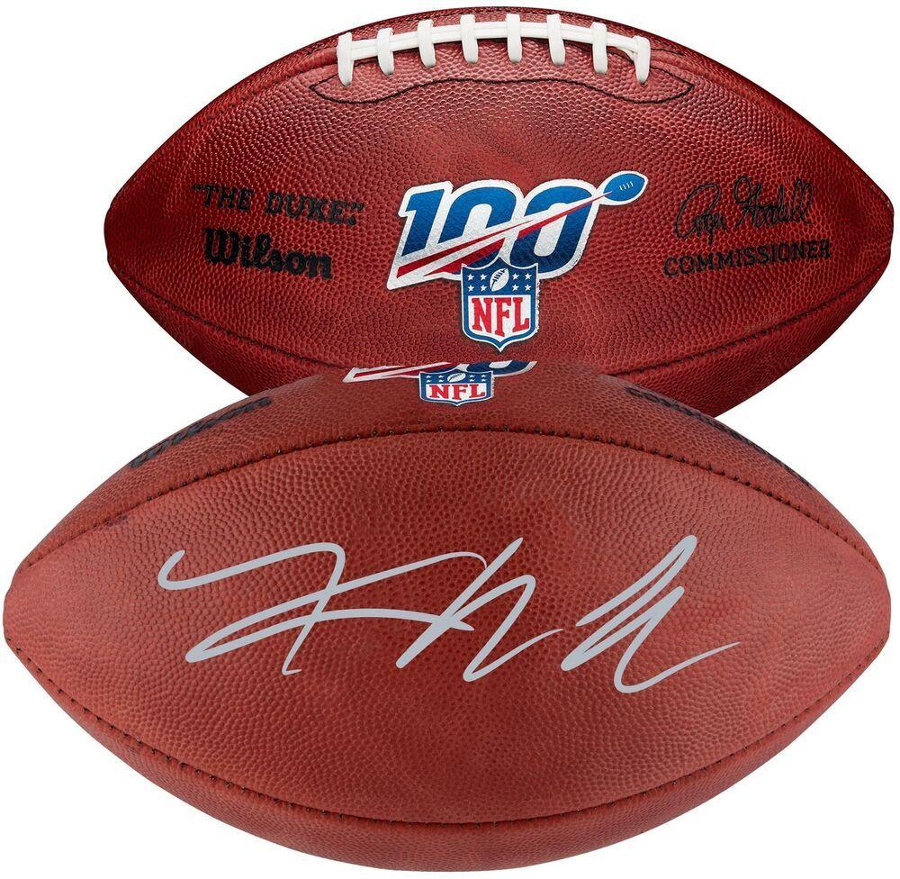 the latest 61130 03094 Khalil Mack Chicago Bears Autographed NFL 100 Duke Pro ...