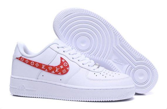 check out b1017 50536 Custom Air Force 1, Louis Vuitton custom, Nike Air Force 1, Louis Vuitton  sneakers, Supreme clothing