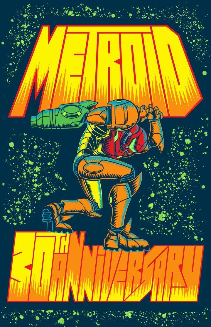 metroid 30th anniversary shirt by vic neko on deviantart metroid