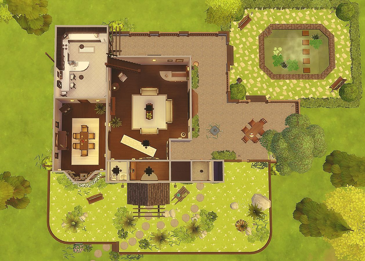 House 20 - The Sims 4 | Sims and Sims house
