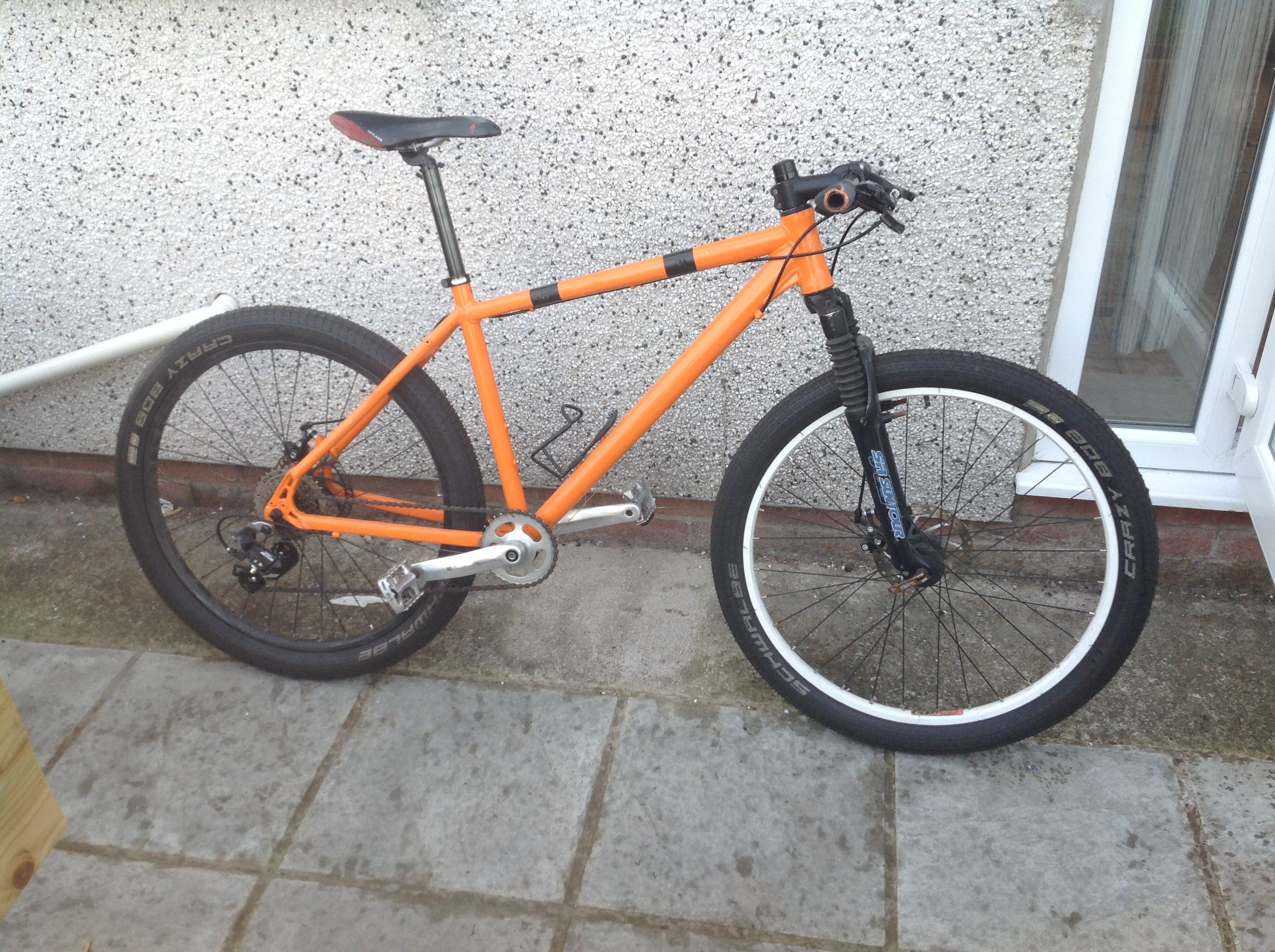 My Revamped Retro Mtb Diy Spray Job Budget Cobbled Together And