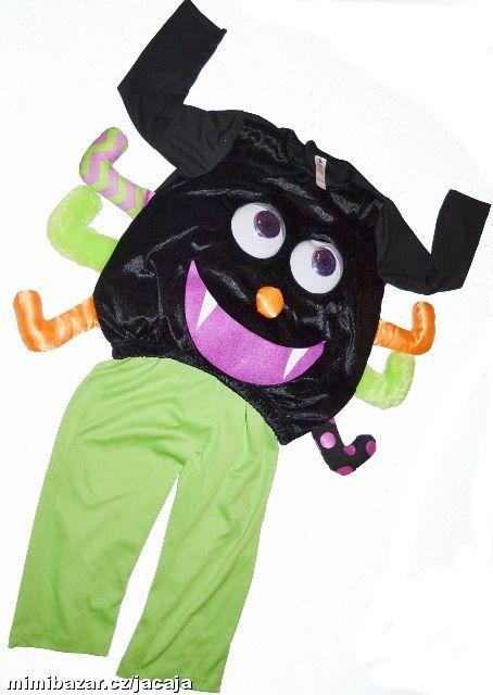c6b8d4669f0b Prodám - Karnevalový kostým PAVOUK 3 4 ROKY