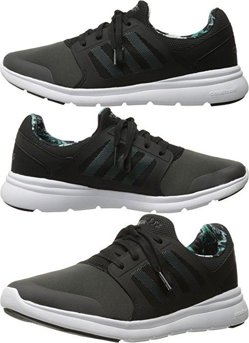 Adidas NEO Women\u0027s Cloudfoam Xpression Mid Shoes,Dark Solid Grey/Shock  Green/Black