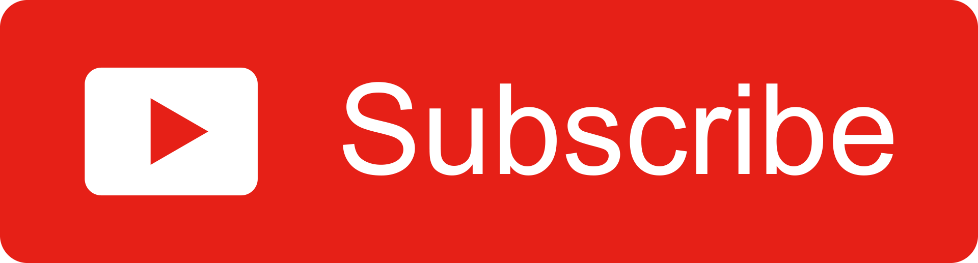 Free Red Youtube Subscribe Button Alfredo Creates Free Flat