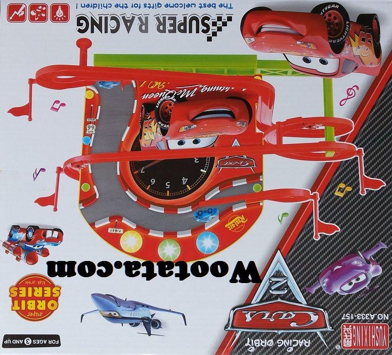 Mainan Mobil Track Racing Orbit Cars 2 Super Racing Lightning Mcqueen Anak Laki Laki Mainan