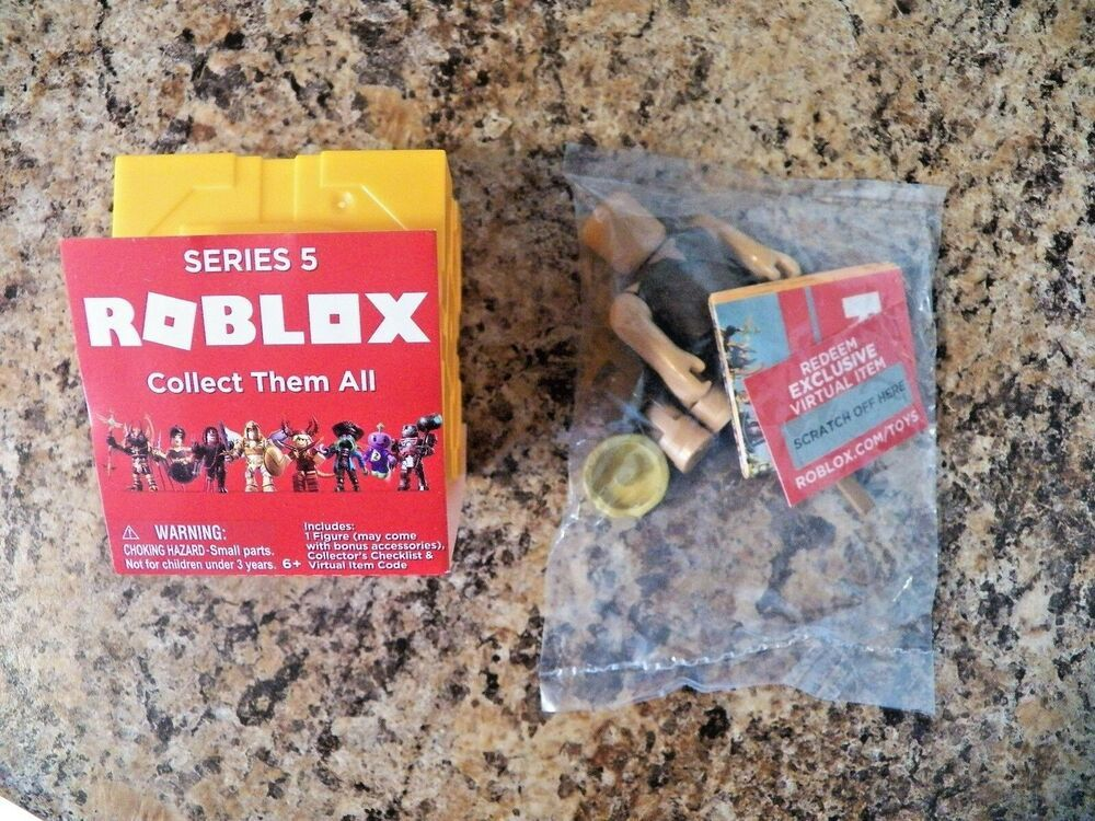 Roblox Series 3 Patient Zero Mini Figure Without Code No Packaging - Hexogen Cave Man Roblox Mini Figure With Virtual Game Code