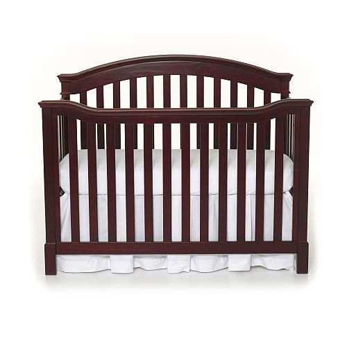 Summer Infant Freemont Easy Reach 4 In 1 Convertible Crib Black Cherry Summer Infant Babies R Us Convertible Crib Cribs Baby Cribs