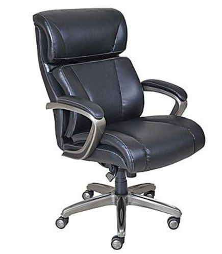 La-Z-Boy Nexus Bonded Leather Executive Chair, Black     Flash ... on lazy boy chair, hickory office chair, lawn chair, double reclining patio chair, judges chair, wicker recliner chair, lane office chair, mustang office chair, la z boy leather chair,