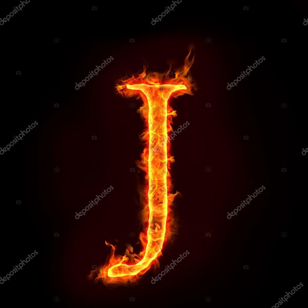 Alfabetos de fogo, J