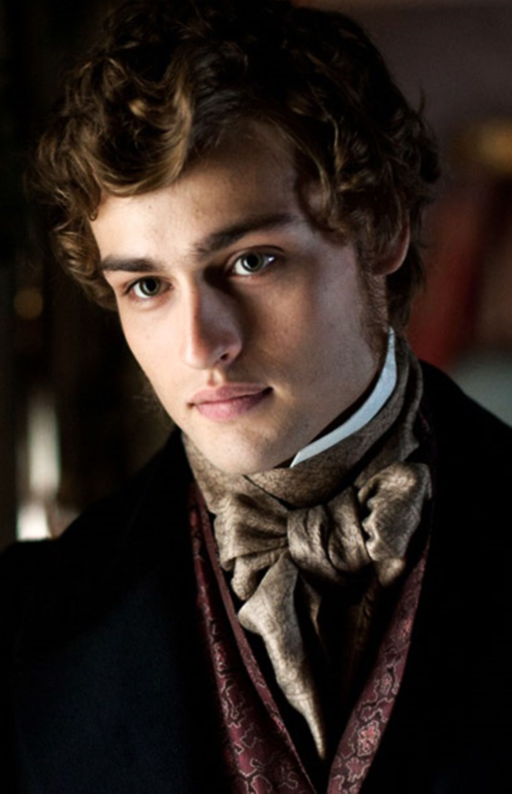 Douglas Booth portrays the character of Pip in the movie ...