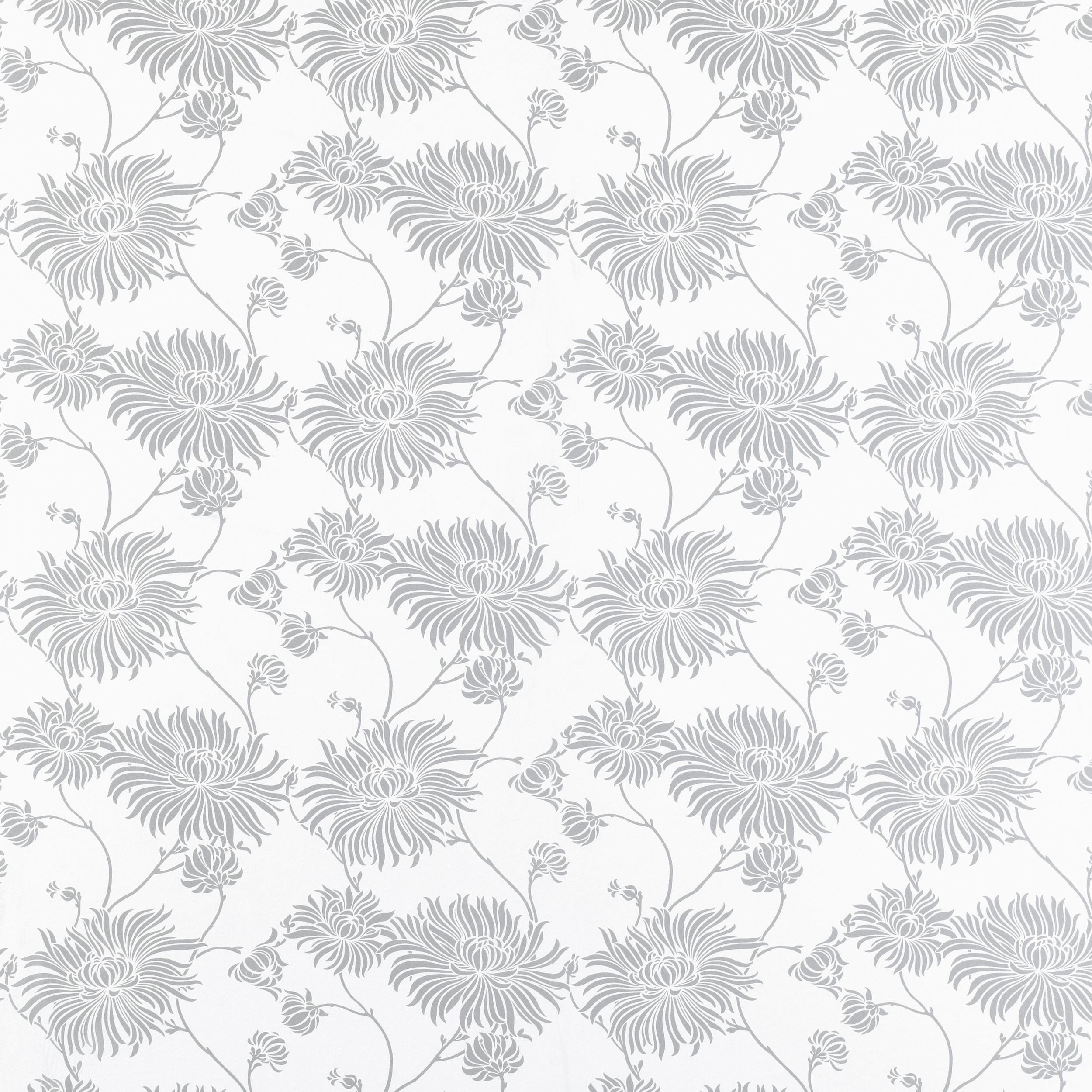 Laura Ashley Wallpaper Kimono Silver Floral Wallpaper
