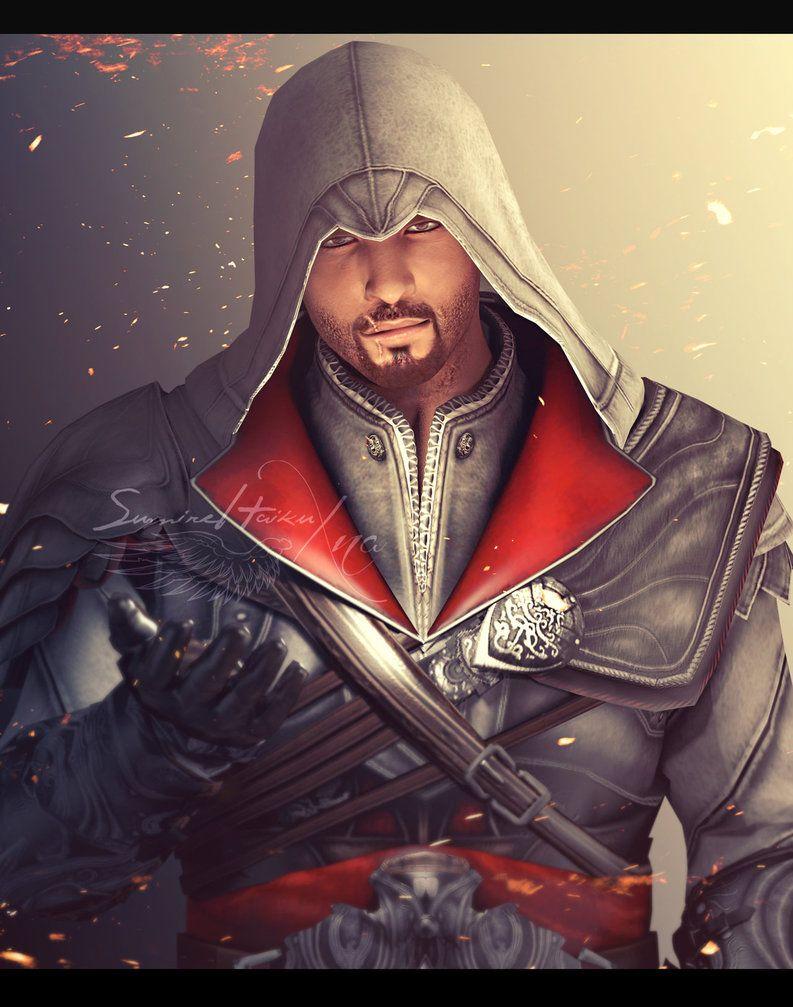 Ezio Auditore Da Firenze Brotherhood By Sumirehaikuxna On
