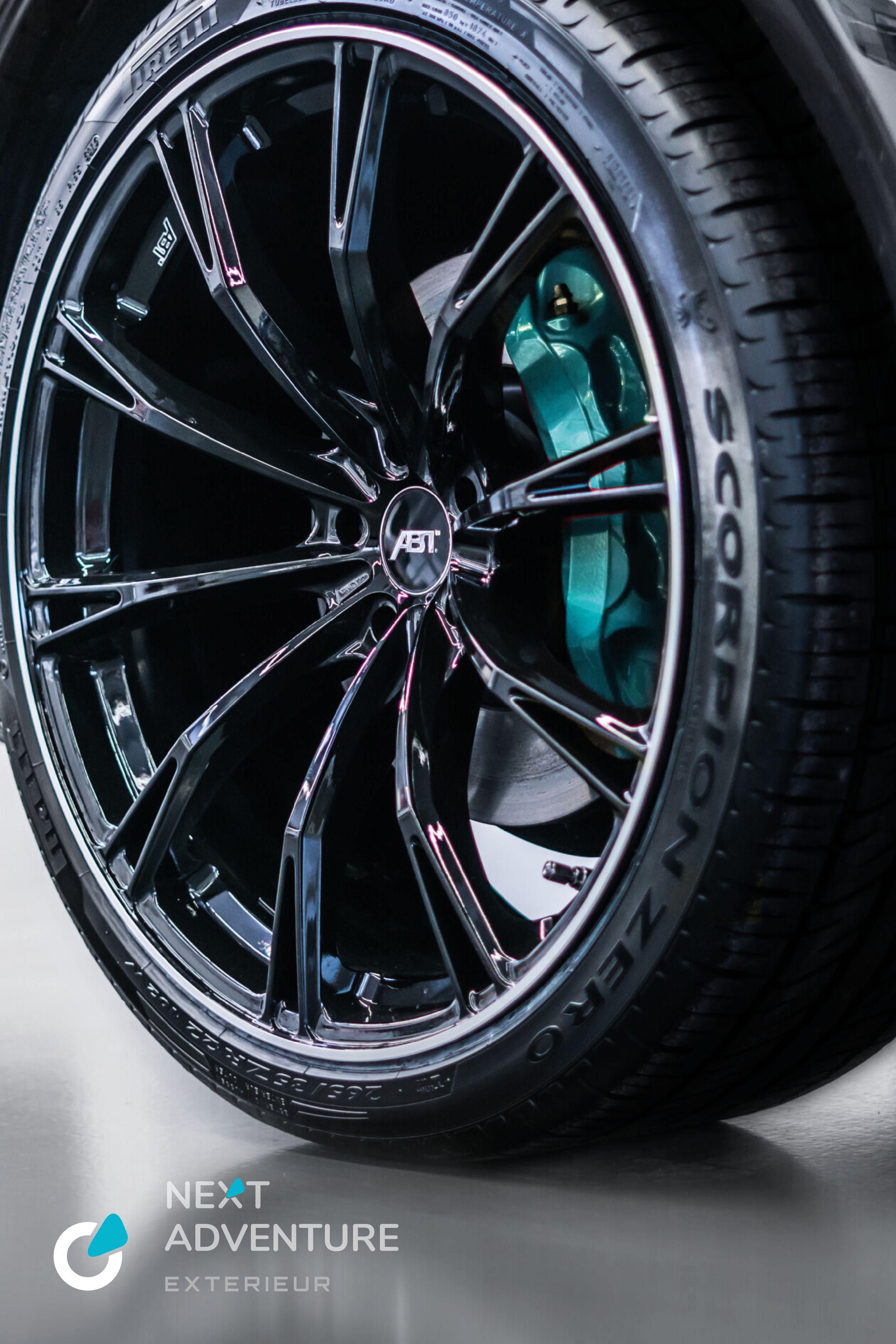 Abt Sport Gr20 Glossy Black Felgensatz Bremssattel In Individualfarbe Vw T6 Volkswagen Autoaufbereitung