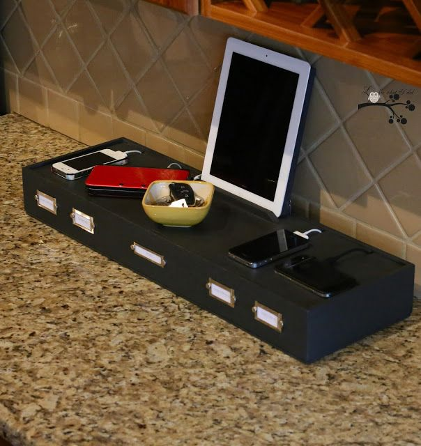 These Are The Best Diy Charging Stations I Ve Found All Your Electronic Needs Will Be Met