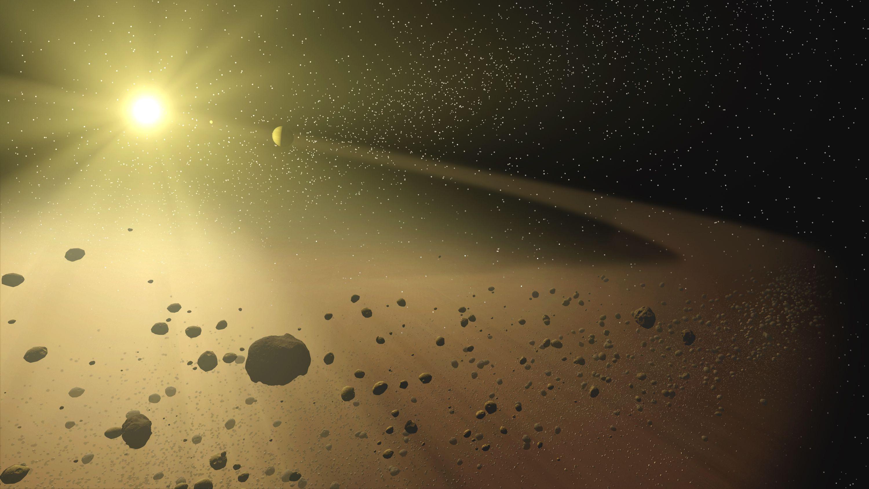 Kuiper S Belt Cinturón De Asteroides Asteroides Sistema Solar