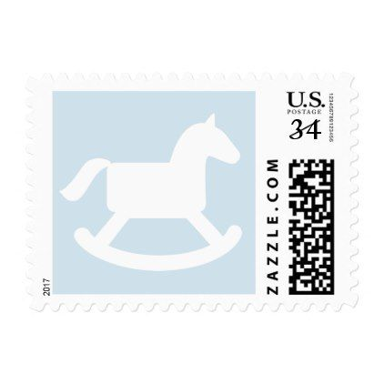 Rocking horse baby shower party postage stamps horse baby showers rocking horse baby shower party postage stamps negle Gallery