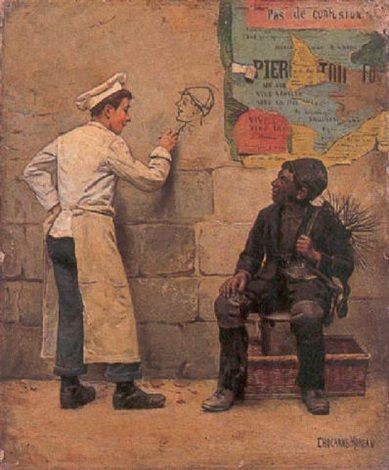 Paul Charles Chocarne Moreau Arte Pinturas Autores
